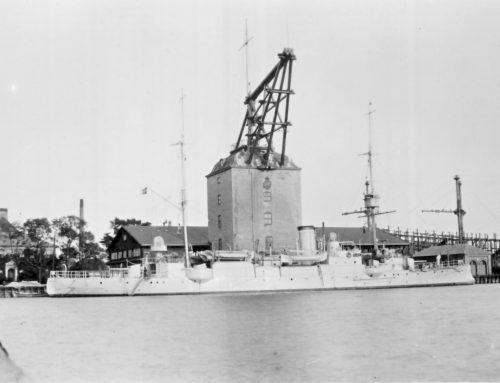 Krydseren Hejmdals togt til Middelhavet 1908-1909 samt Kadetskolen 1904-1908.